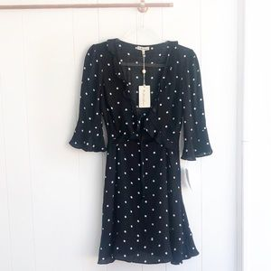 NWT For Love & Lemons Luciana Polka Dot Dress